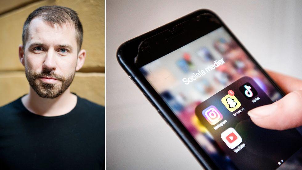 Tiktok och Instagram är två av plattformarna som undersökts och som det enligt rapporten sprids antisemitiskt innehåll på. Expos vd Daniel Poohl är orolig.