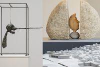 """Giacometti på Moderna Museet, Britta Marakatt-Labba på Sven-Harrys och Christian Saltas """"Experimentalfältet"""" på Accelerator."""
