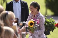 Kronprinsessan Victoria fyller 41 år i dag och födelsedagen firas traditionsenligt på Öland.