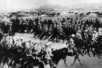 Slaget vid Lemberg 1914.