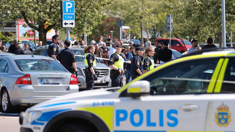 Elva män döms efter oroligheterna i Hjällbo. Arkivbild.