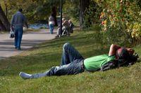 I helgen kan det vara sista chansen att njuta av sommarens värme. I alla fall i södra Sverige. Arkivbild.