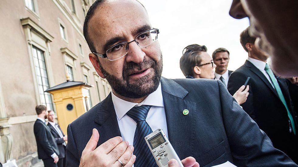 Mehmet Kaplan (MP), bostads-, stadsutvecklings- och IT-minister i den nya regeringen.