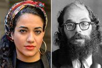 Athena Farrokhzad skriver i sin dikt att hon läste Allen Ginsberg som barn.