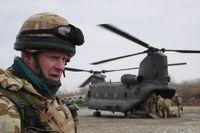 Brittiska soldater i Afghanistan.