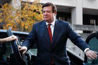 Paul Manafort anländer till en domstolsbyggnad i Washington. Arkivbild.