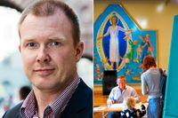 Det är hög tid för de politiska partierna att lämna kyrkan i fred, skriver Per Ewert inför kyrkovalet den 19 september.