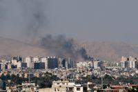 Det krigshärjade Syriens huvudstad Damaskus. Arkivbild.