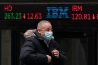 Uppåt på börsen i New York. Arkivbild.