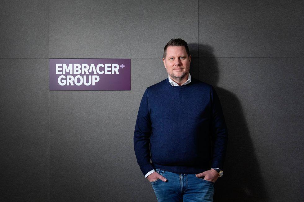 Lars Wingefors, vd Embracer.