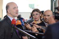 Ekonomikommissionär Pierre Moscovici.