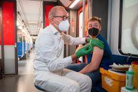 Vaccinering pågår i den tyska kollektivtrafiken.