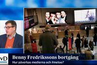 SvD:s Mikael Törnwall om vilka följder Benny Fredrikssons tragiska bortgång kan få för metto-debatten.