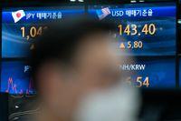 Tokyobörsen steg, men på andra Asienbörser fick börsveckan en negativ avslutning. Arkivbild.