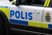Polispatruller skingrade runt 1000 personer som samlats för en bilträff i Gislaved. Arkivbild.