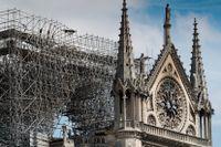 Byggföretaget som hade huvudansvar för restaureringen av Notre-Dame nekar till att ha orsakat branden.