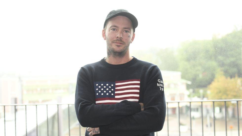 Joakim Lundell. Arkivbild.
