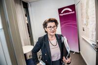 Angeles Bermudez-Svankvist, fd generaldirektör Arbetsförmedlingen, på sitt nya jobb.