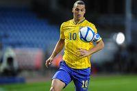 Zlatan Ibrahimovic spelade inför förhållandevis tomma läktare mot Kina.