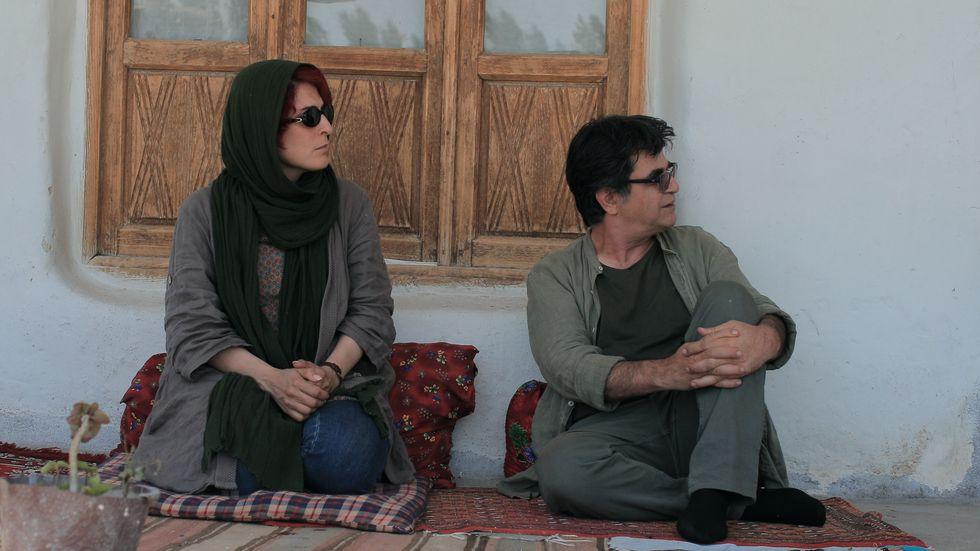 """Behnaz Jafari och Jafar Panahi i """"3 kvinnor""""."""