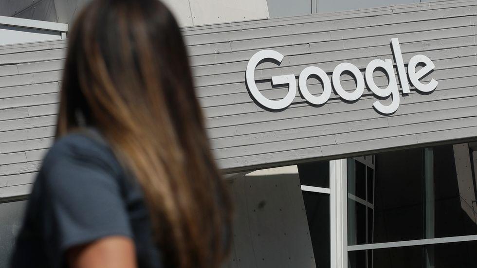 Anställda på Google får inte återvända till kontoret om de inte är vaccinerade mot covid-19. Arkivbild.