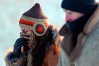 Under fredagen fanns det risk för isdygn, det vill säga att temperaturen ligger på minus i hela landet i ett dygn.