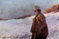 Franz Schubert (1797–1828), vykort från tidigt 1900-tal.
