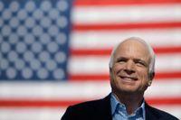 Senatorn John McCain som avled i helgen.