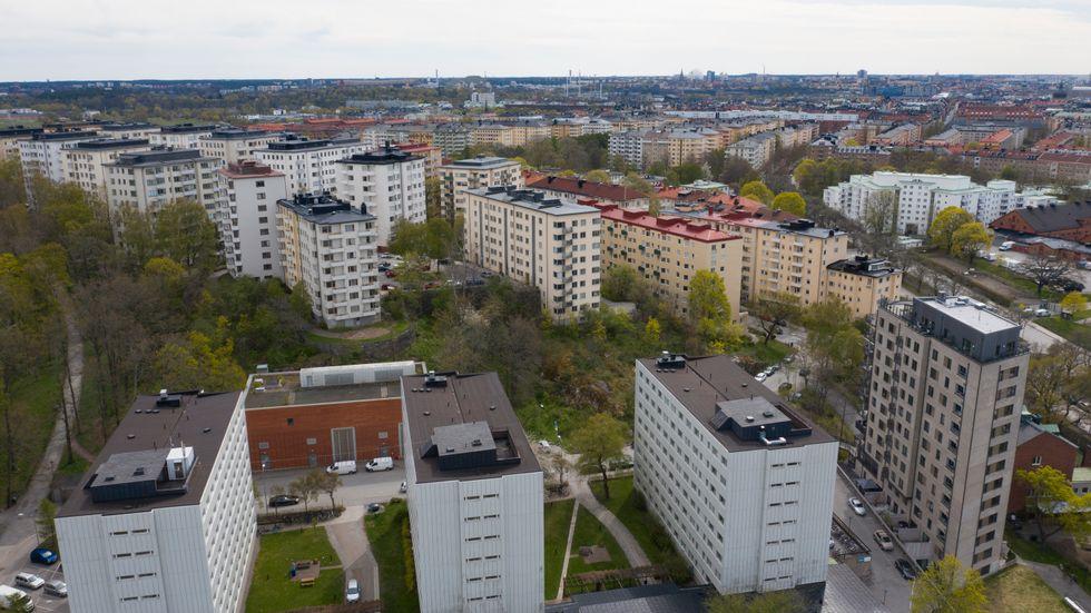 Anmälningarna om lägenhetsbedrägerier ökar när många söker bostad för att flytta till en ny ort för att plugga. Arkivbild.