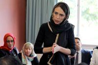 """""""Vi har fattat ett beslut som regering, vi är enade, sade Nya Zeelands premiärminister Jacinda Ardern vid en presskonferens tre dagar efter de brutala terrordåden i Christchurch."""