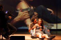 """""""Julia"""" av brasilianska Christiane Jatahy, som utgår från August Strindbergs pjäs """"Fröken Julie""""."""