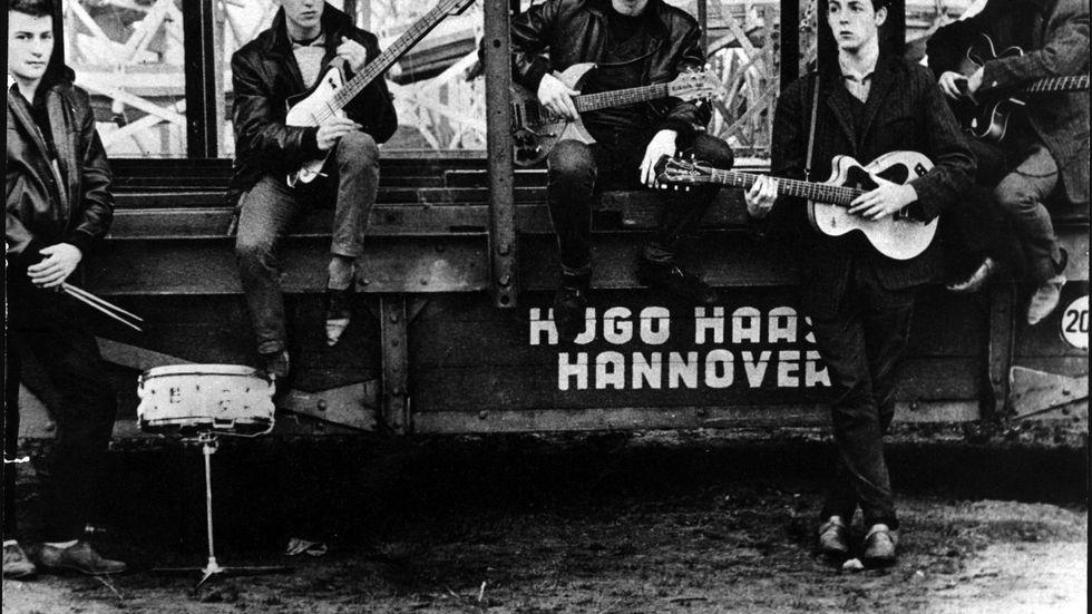 Fotografen Astrid Kirchherr är död. Hon tog den första bilden av The Beatles som grupp. Arkivbild.