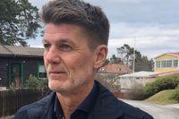 Nils Simonsson bor i villaområdet som Tobin Properties inte längre vill köpa. Villorna som normalt kostar 15–20 miljoner skulle gett 30–45 miljoner.