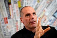 Greklands förre finansminister Yanis Varoufakis hoppas bli invald i EU-parlamentet – via Tyskland. Arkivbild.