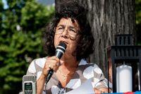 Lena Posner-Körösi, ordförande får Judiska centralrådet.