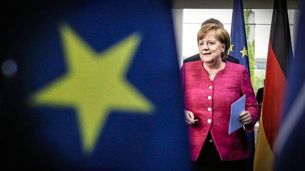 Den 28 april håller Angela Merkel ett tal som kan visa vart världen är på väg, skriver Johan Rockström.