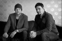 """Per Simonsson och Stefan Roos prisades för sin tidigare julkalender """"Tjuvarnas jul"""" (2011)."""