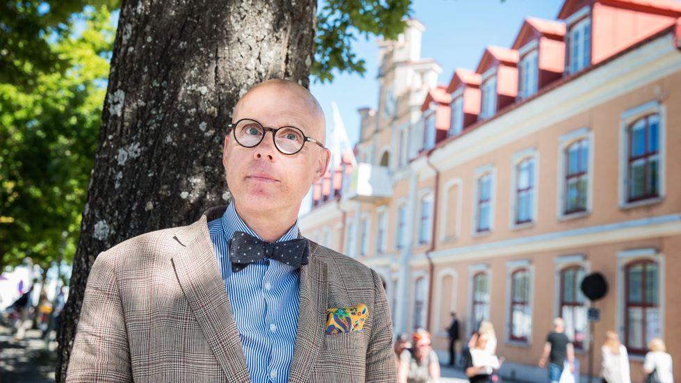 Statsvetaren Jonas Hinnfors.