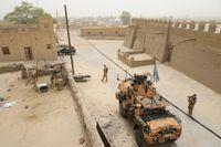Sverige har en snabbinsatsstyrka på omkring 150 personer i Mali. Bilden är från Sveriges deltagande i FN-insatsen Minusma 2015.
