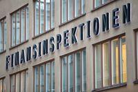 Finansinspektionens kontor i centrala Stockholm.