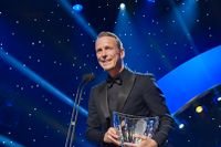 Peder Fredricson tilldelades Jerringpriset under Idrottsgalan 2018 i Globen.