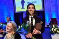 Jonas Hassen Khemiri fick Augustpriset i kategorin Årets skönlitterära bok.