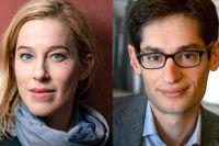 Anna Careborg, SvD:s chefredaktör, och Peter Wolodarski, DN:s chefredaktör.