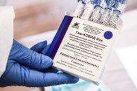 Ryska vaccinet Sputnik V kan godkännas i EU