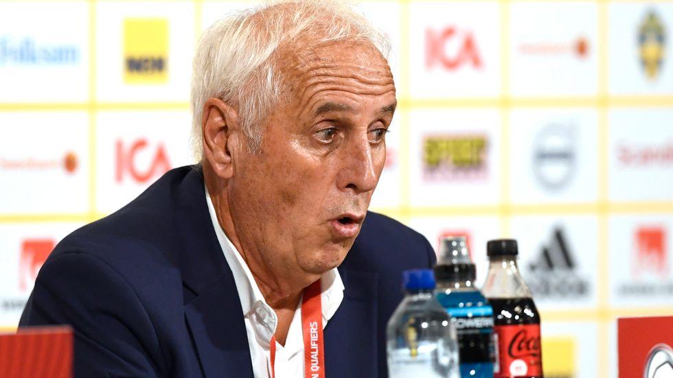 0–3-förlusten mot Sverige i lördags blev Bernard Challandes näst sista match som Kosovos förbundskapten.