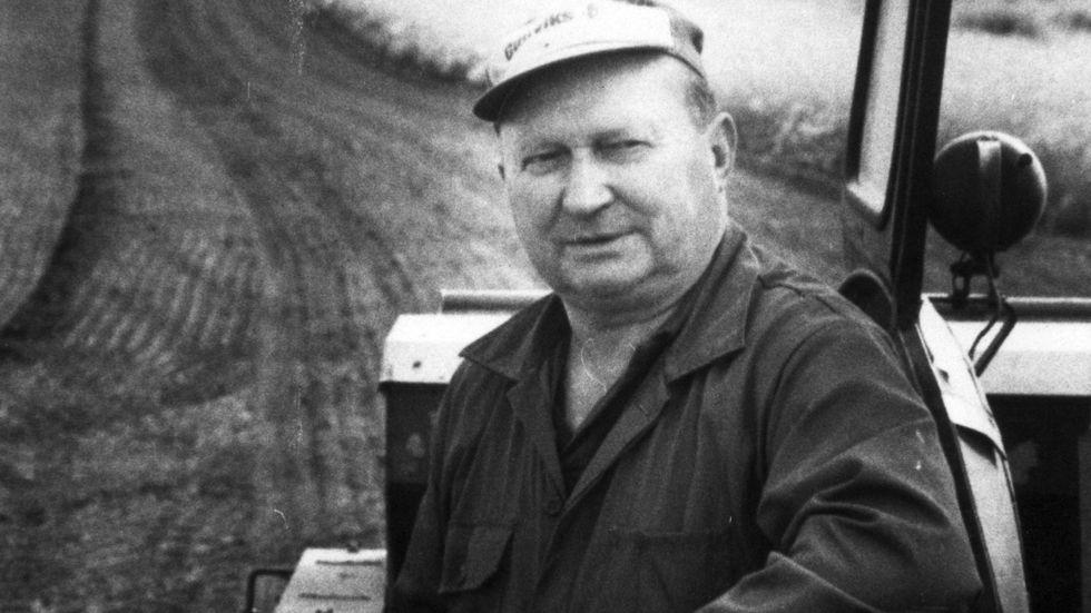 Sjöbopolitikern Sven-Olle Olsson utslöts ur Centerpartiet på grund av sitt flyktingmotstånd i slutet av 1980-talet. Arkivbild.