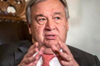 FN:s generalsekreterare António Guterres. Arkivbild.