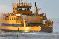 Skepparen somnade. Det var därför som färjan Ebba Brahe mellan Gränna och Visingsö körde in i kajen i Gränna hamn i början av juni. Arkivbild.