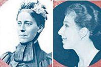Aphra Behn, Mary Kingsley, Karen Blixen och Isabelle Eberhardt.