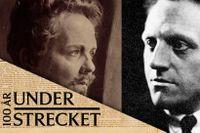 August Strindberg och Pär Lagerkvist.